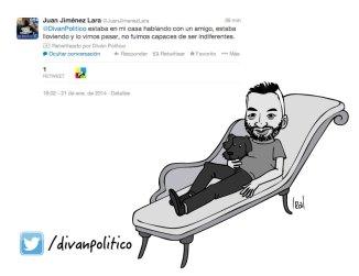 Juan Jiménez Lara en Diván Político