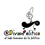 Aplicación logo @DivanPolitico con eslogan