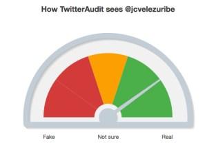 Perfil de Twitter de Juan Carlos Vélez