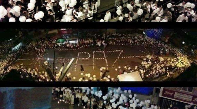 Medellín manifestó su solidaridad con familias de tragedia aérea