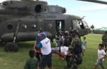 Dos helicópteros MI-17 con tres tripulaciones y un equipo de rescate se encuentran en Perú para ayudar. Foto: Webinfomil.com