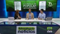 Dora Patiño, Carlos Naranjo y Rodolfo Correa.