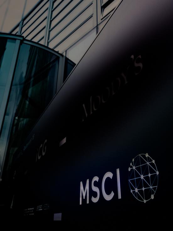 Gebäude an der Welle 5 mit Sitz von MSCI in Frankfurt