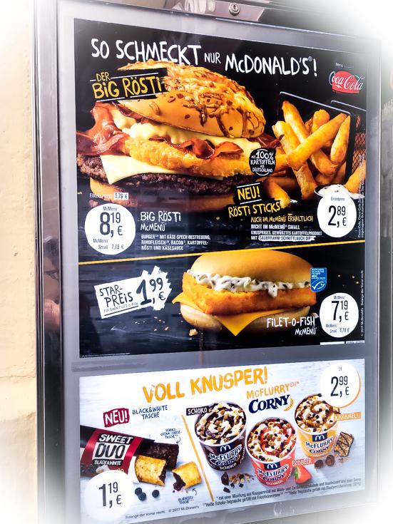 WM-Sponsor und Top-Dividendenzahler: McDonald's