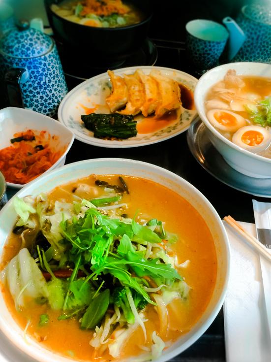 typisch japanisches Essen zur Sekisui House Aktie