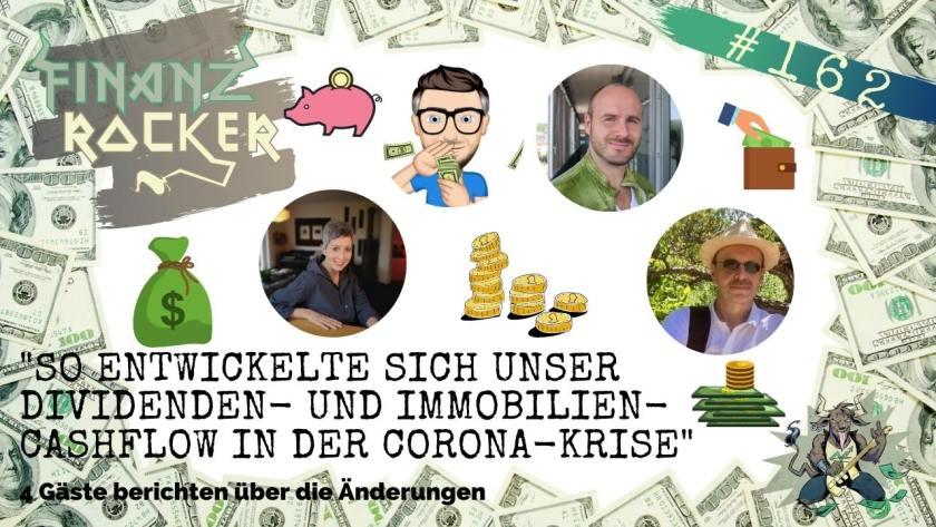 Episode 162 des Finanzrocker-Podcasts mit Ben Warje u.a.