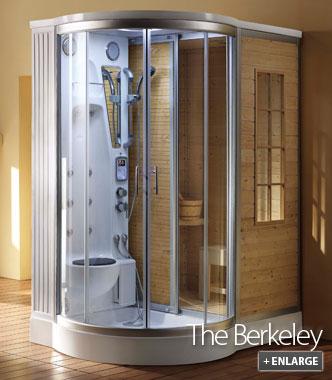 Steam Sauna Unit  The Berkeley  Steam and Sauna Combination