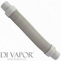 Di Vapor (R) Universal Extendable Shower Flexible Grey ...