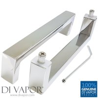 200mm Shower Door Handles (20cm Hole to Hole) - Stainless ...