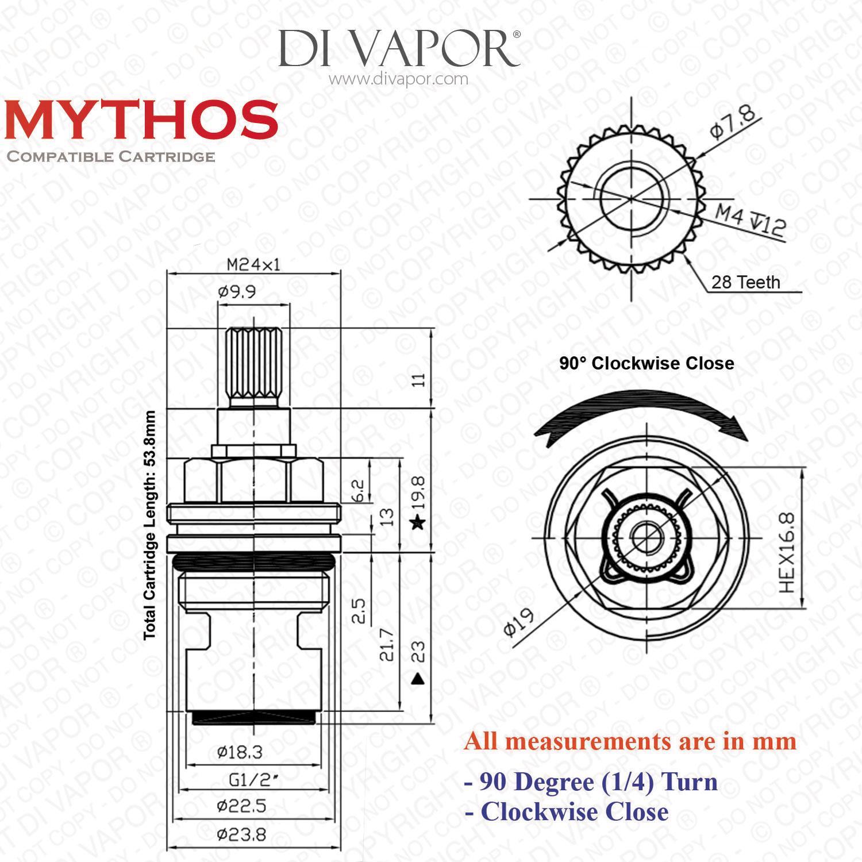 Franke Mythos Rc Mtx Mtg And Mtv Cold Tap Valve 133