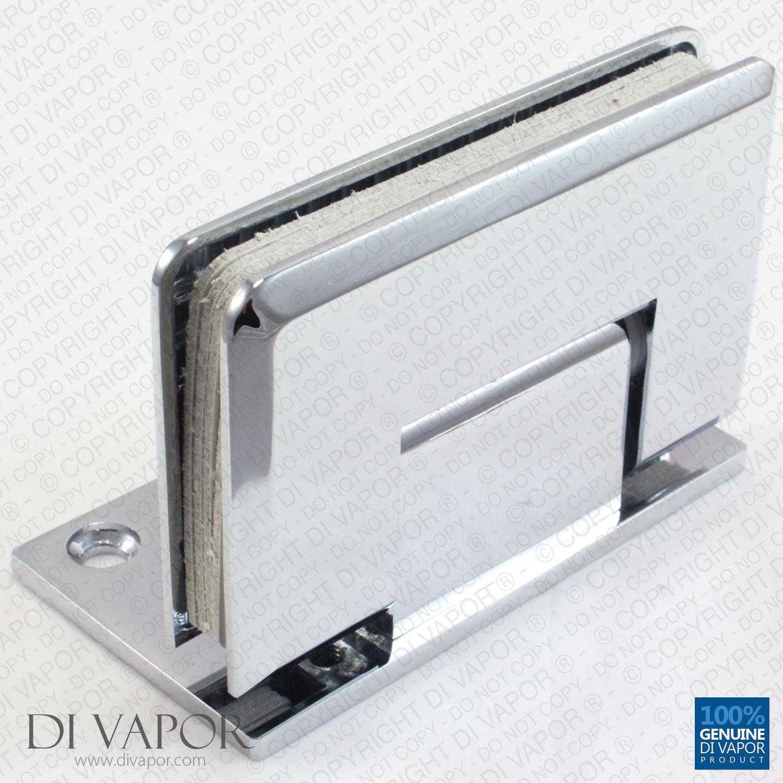 90 Degree Wall Mounted Shower Door Glass Hinge