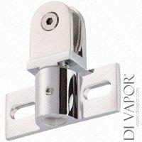 Di Vapor (R) Glass Shower Door Pivot Hinge Duty Heavy Seal ...
