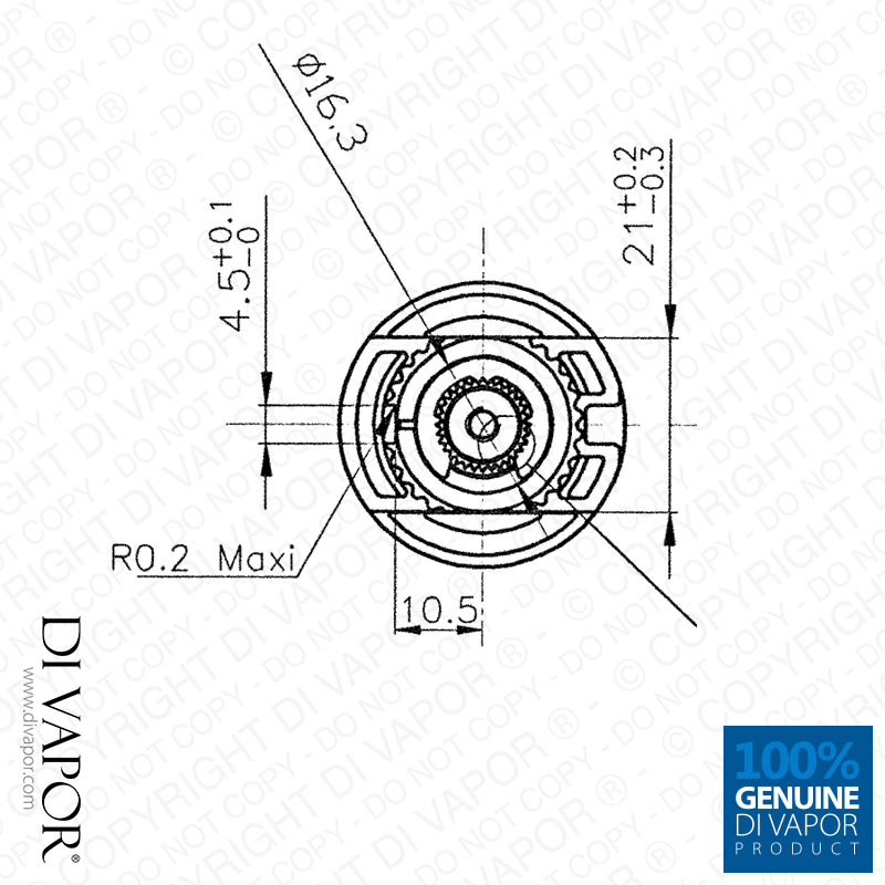 Thermostatic Cartridge for NewTeam SP-077-0148 Fits All