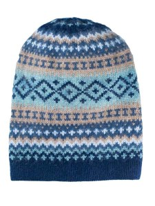 Sierra Hat, Navy, Alpaca Blend, winter Hats for the whole family