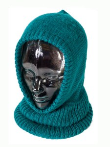 Arctic Hood Reversible, Alpaca Blend winter Balaclava for the whole family