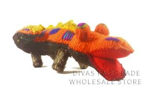 Crocodile 100% Natural Wool Stuffed Toys Woolly Amigos