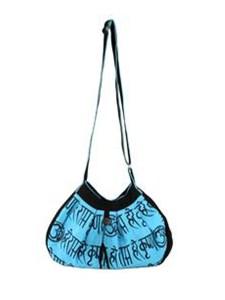 Bold Shoulder Bag Blue