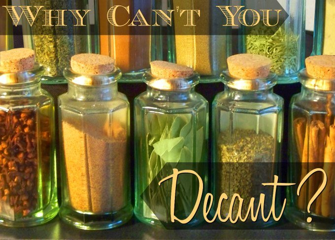 Want to add some beauty and elegance to your home on a budget? Simply decant your purchased items into beautiful bottles or containers. Lots of beautiful, easy ideas that cost next to nothing to do.