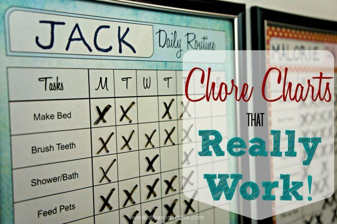 Want a chore chart that works? We've got you covered. Tips and FREE printables.