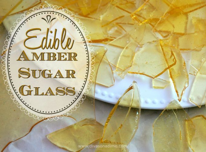 Sugar glass looks amazing but it so cheap and easy to make yourself. Perfect for Halloween Glass Shard Cupcakes but you'll use this technique all year long. Make Sea Glass or Lollipops, too!