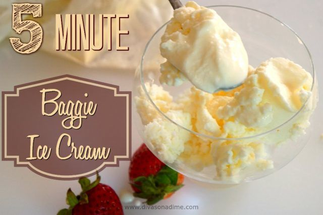Can zip top baggies, ice and milk make the BEST ice cream? Get the kiddies and find out!