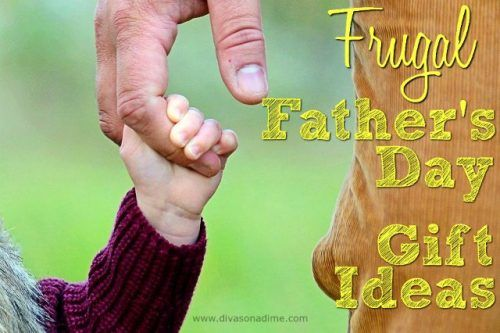 """You don't have to spend a fortune to give Dad a gift he'll love. Use more creativity than cash to say, """"We Love You Dad!"""""""