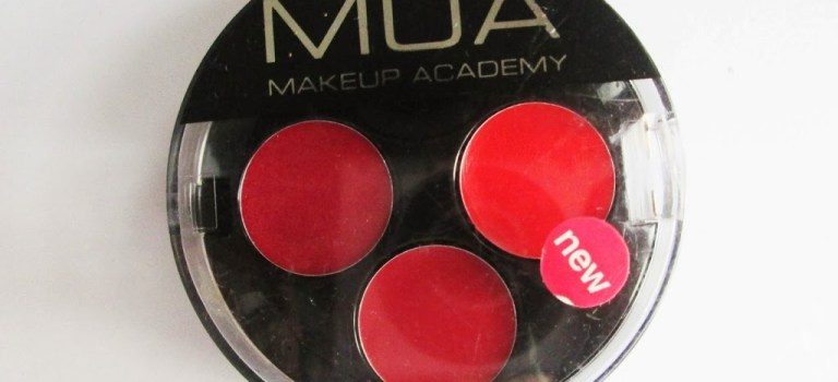 MUA Lip Trio in Temptress: Review/Swatch/LOTD