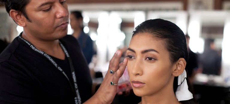 Amazon India Fashion Week 2015: MAC Cosmetics for Rahul Mishra