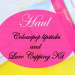 Weekly Ramblings: Cupping therapy and ColourPop haul