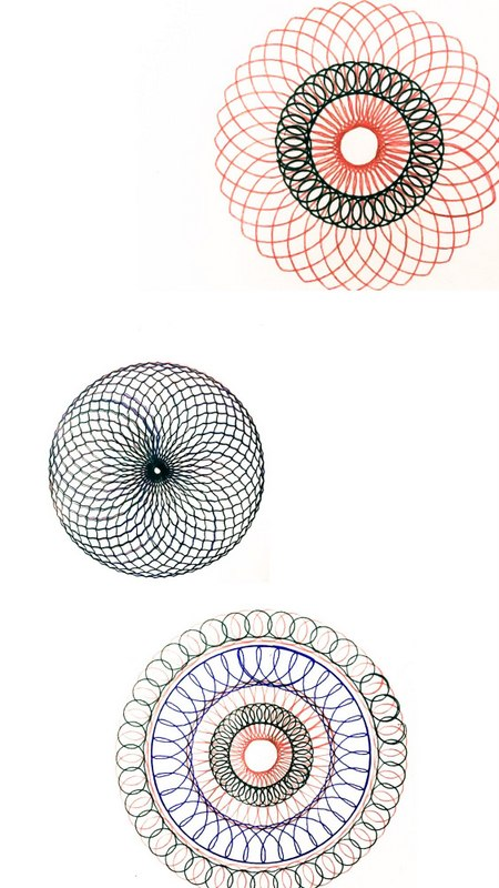 Monthly Favourites, Spirograph, 90s kid, art, mandala designs free download