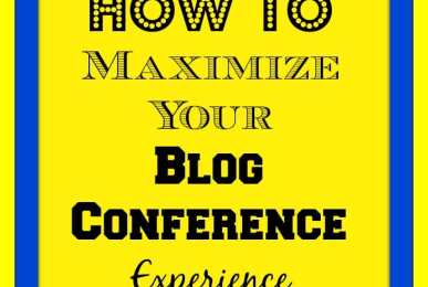 How To Maximize Your Blog Conference Experience #NicheParent14