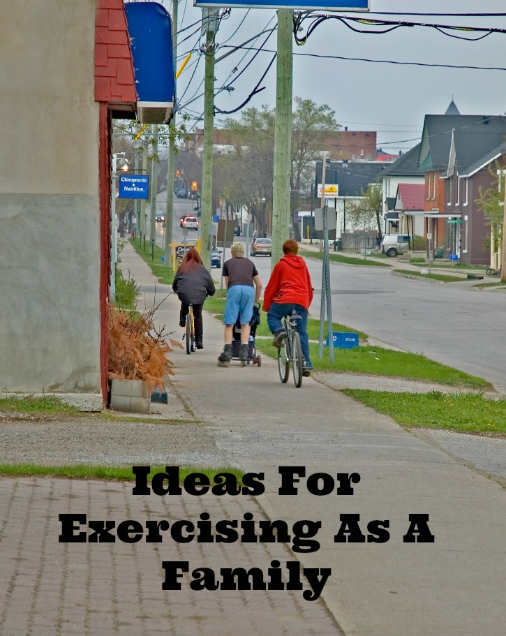 Ideas For Exercising As A Family