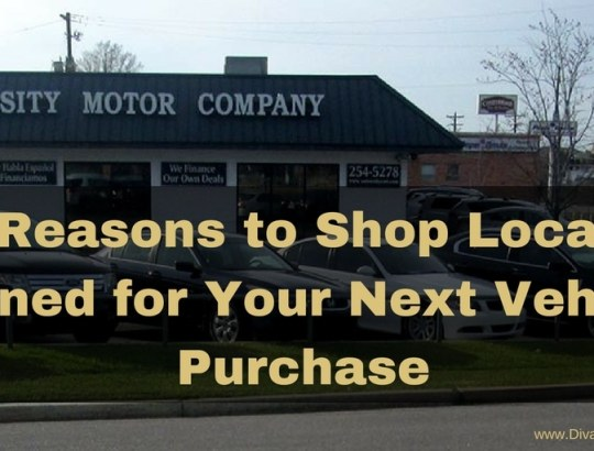 3 Reasons to Shop Locally Owned for Your Next Vehicle Purchase