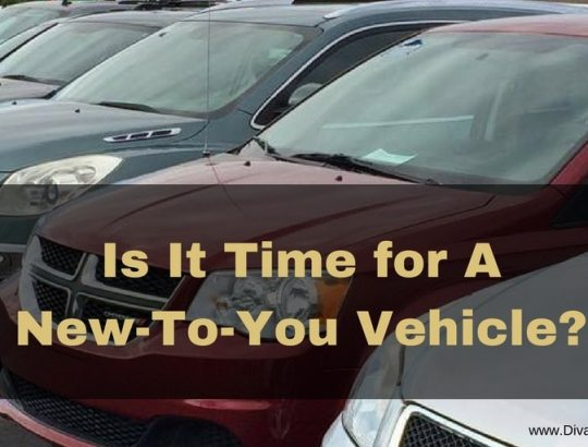 Is It Time for A New-To-You Vehicle?