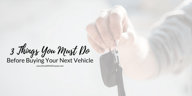 3 Things You Must Do Before Buying Your Next Vehicle TW