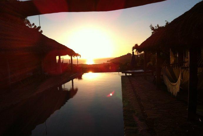 Sunset from Casa de Olas