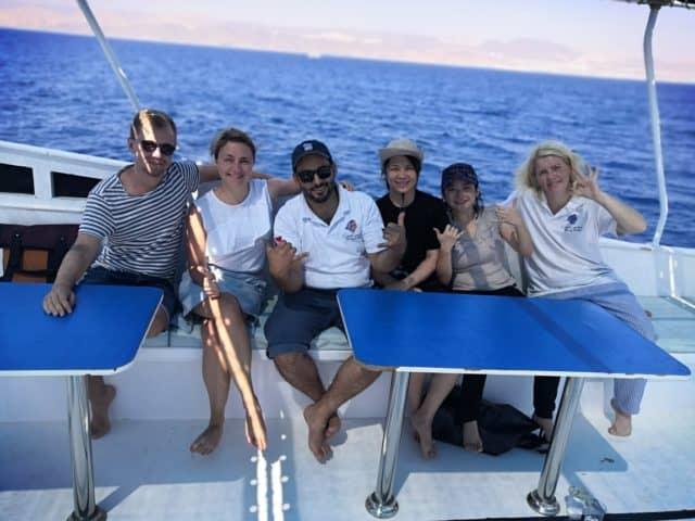 boat trip aqaba red sea