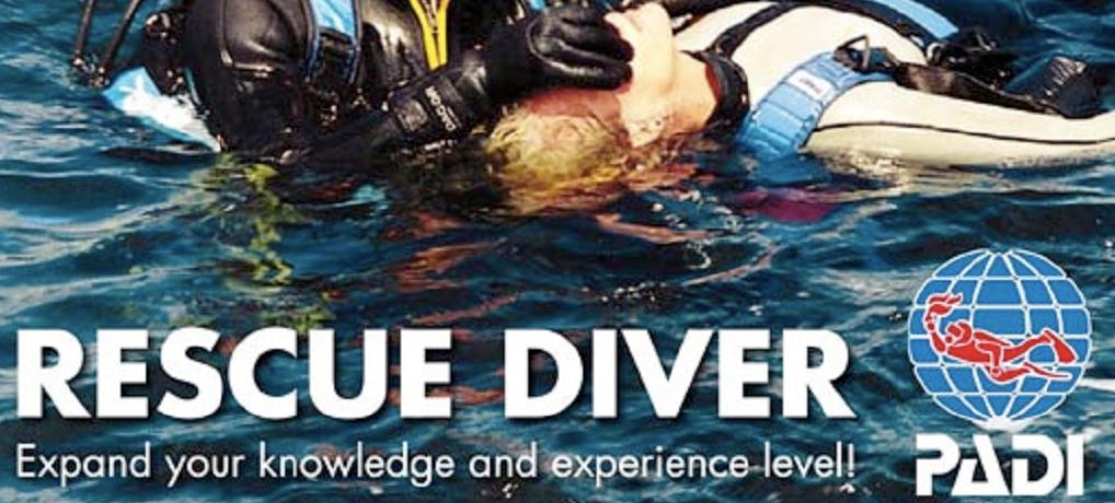 Mergulhador de Resgate – Rescue Diver – PADI