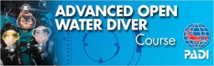 GRATIS PADI Advanced Open Water Diver Cursus