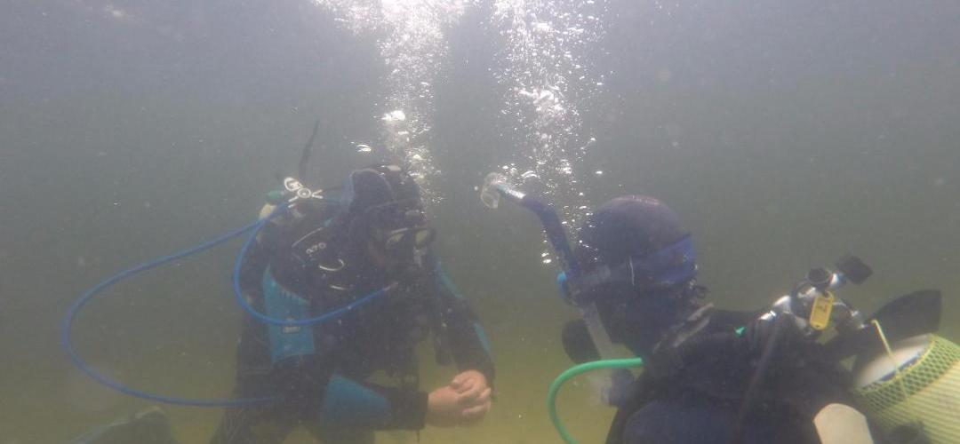 onder water duiken