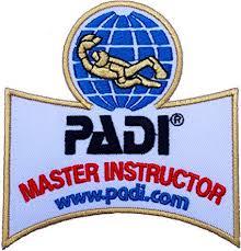 PADI Master Instructeur