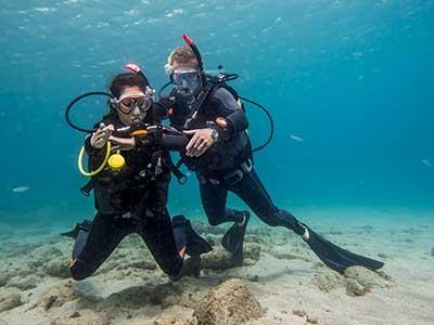 PADI, Open Water Diver, Dive College Lanzarote, Playa Blanca, OWD