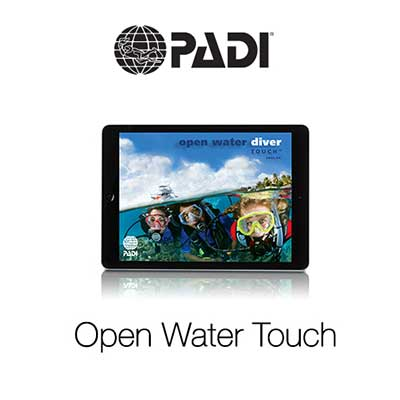 Open Water Touch, OWD, eLearning, PADI, Dive College Lanzarote, e-learning, online, course