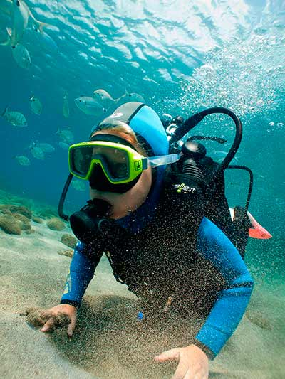 PADI Bubblemaker, DSD, kids, children, try diving, start, introduction, Lanzarote, Playa Blanca