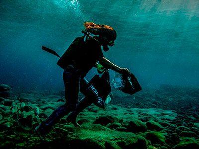 Marian de Jongh Swemer, staff Dive College Lanzarote, Playa Blanca