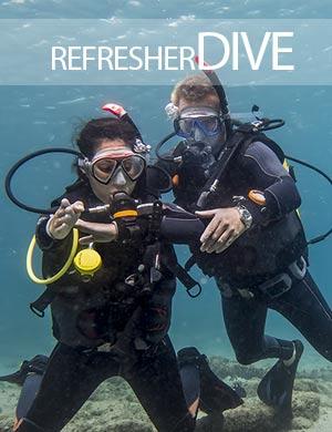 Refresher Dive, Dive College Lanzarote, Playa Blanca