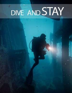 Diving and accommodation, stay, Dive College Lanzarote, Playa Blanca