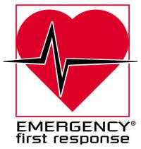 Emergency First Response, EFR, logo, primary, secondary care, Erste Hilfe, HLW