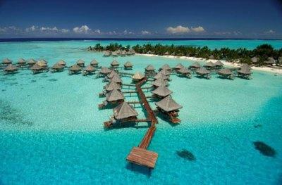 Hotel InterContinental Bora Bora Le Moana Resort, Bora ...