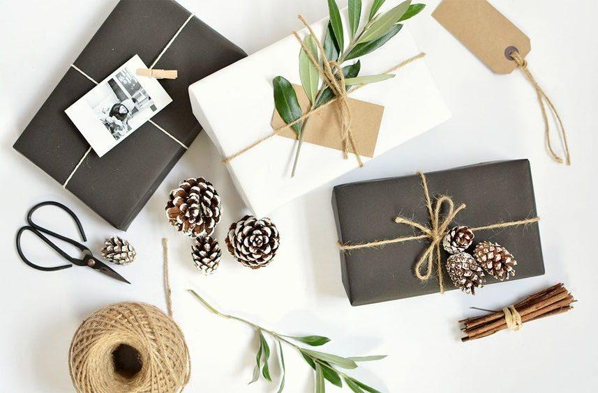 Idee per pacchetti regalo di natale stile boho diventare for Regalo di natale originale